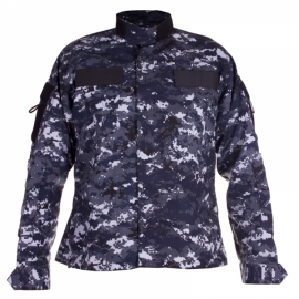 Top Combate Rip Stop Prof. Camuflado Navy Digital