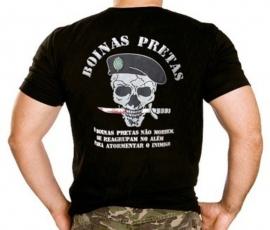 Camisa Boinas Pretas