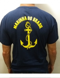 Camisa Marinha do Brasil Azul