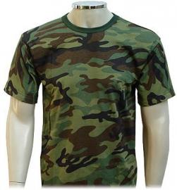 Camisa Camuflada Woodland