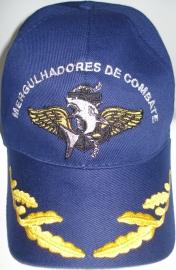 Boné Mergulhadores de Combate Bordado Azul