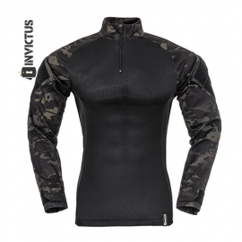 Combat Shirt Multican Black - (Invictus)