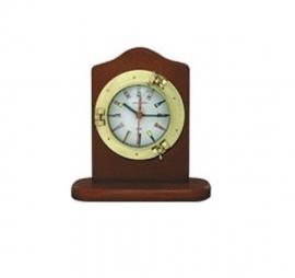 Mini Relógio Vigia de Mesa Branco