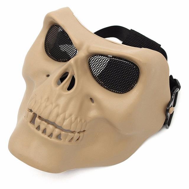 Máscara Caveira Tan