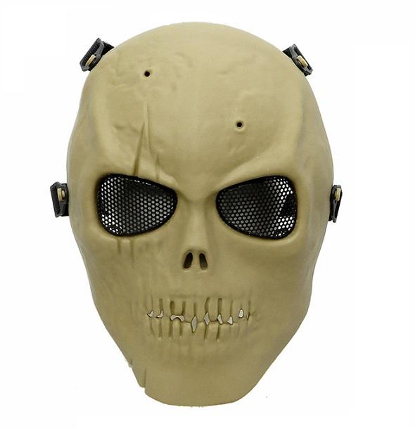 Máscara Caveira Tan Full